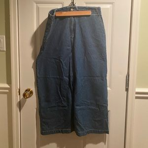 Jean Maxi Skirt